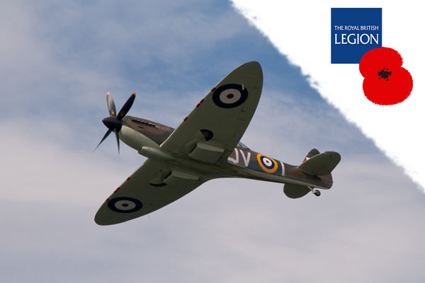 Fly alongside a Spitfire