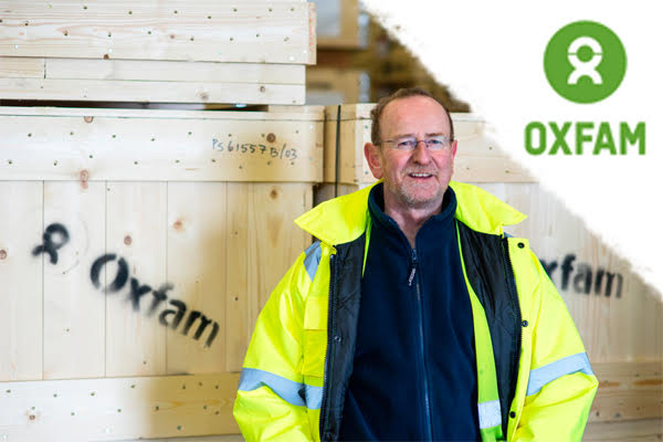 An Exclusive Tour of Oxfam's International Aid Warehouse