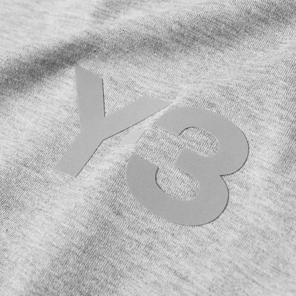 Y-3 CL LOGO TEE - GREY