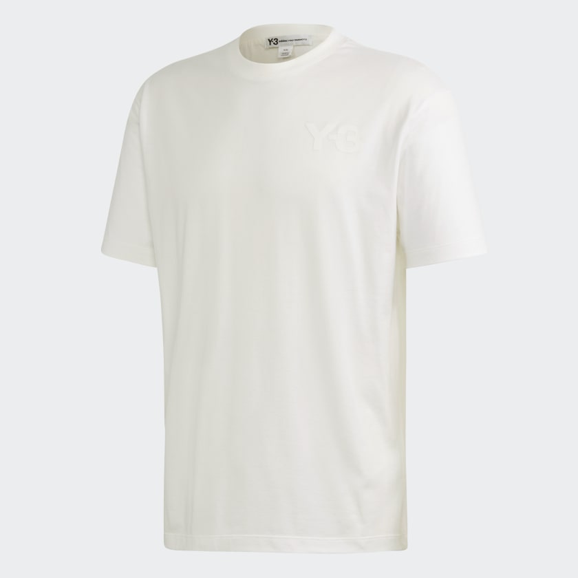 Y-3 CL LOGO TEE - WHITE