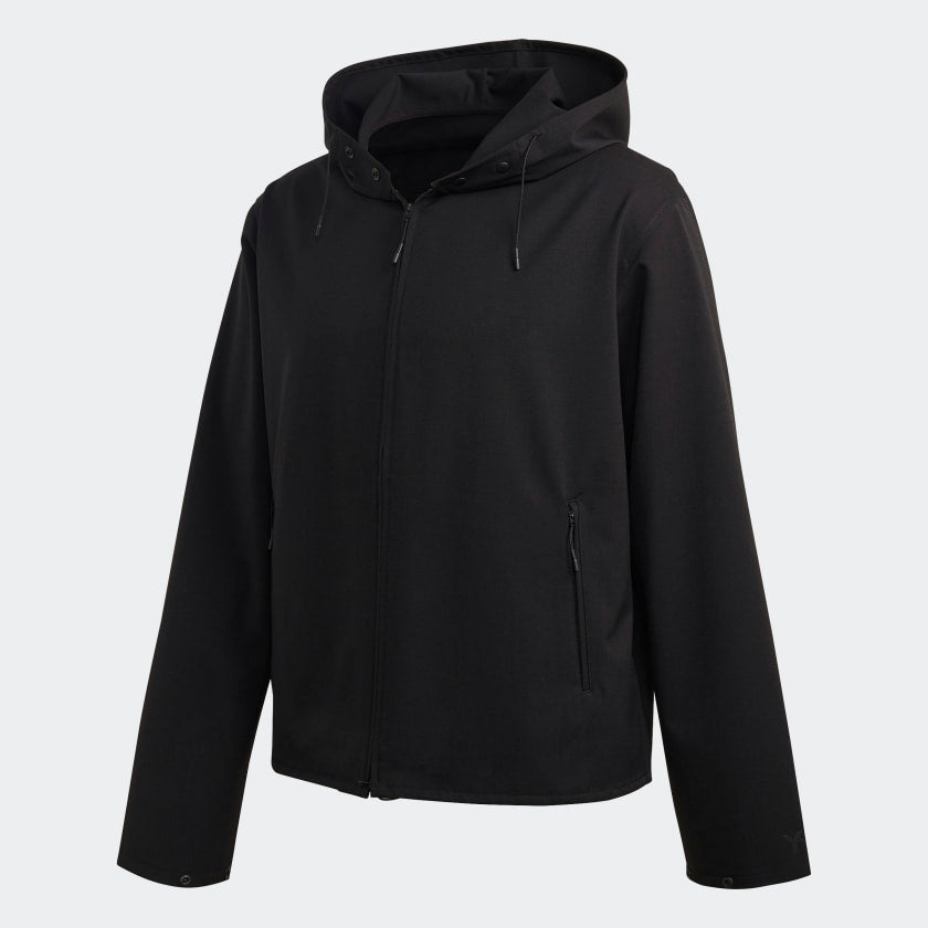 Y-3  OVERSIZED WINDBREAKER BLACK