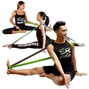 Dance Stretcher Gift Pack: Door Flexibility Trainer PRO + Stretching Band by EverStretch