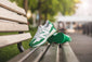 New Balance 327 X Casablanca White/Green