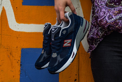 New Balance 991 Blue/Red
