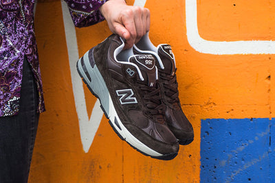 New Balance 991 Brown
