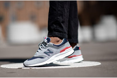 997H Grey/Red