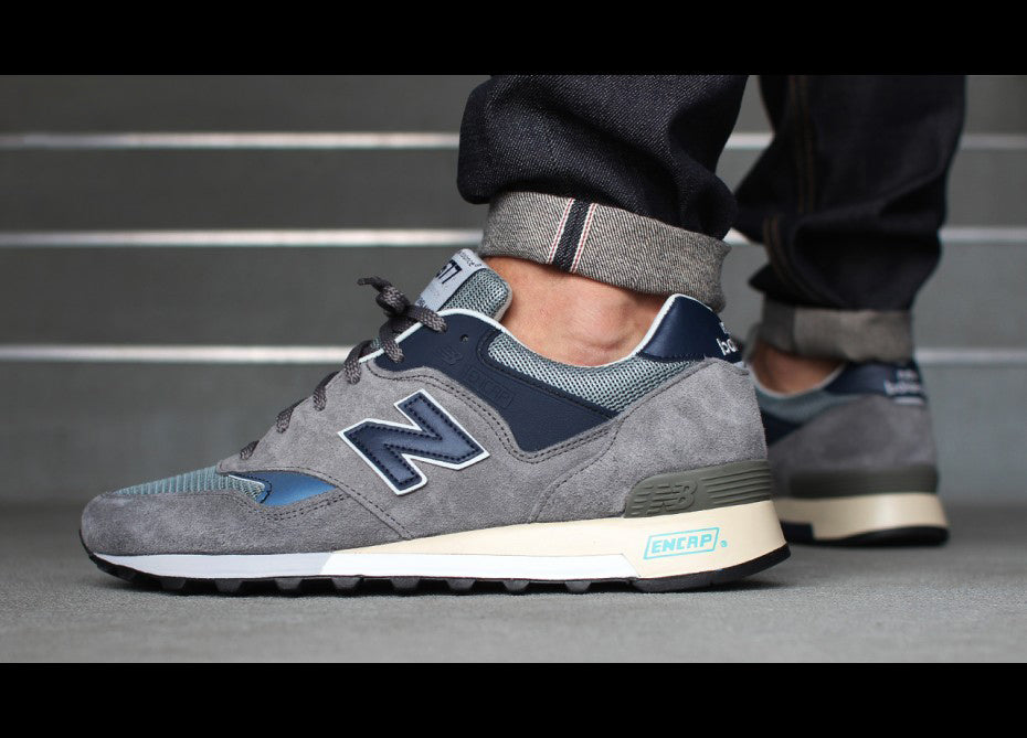 New Balance 577 Grey/Blue