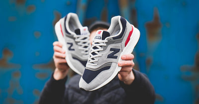 New Balance 997H Grey/Red