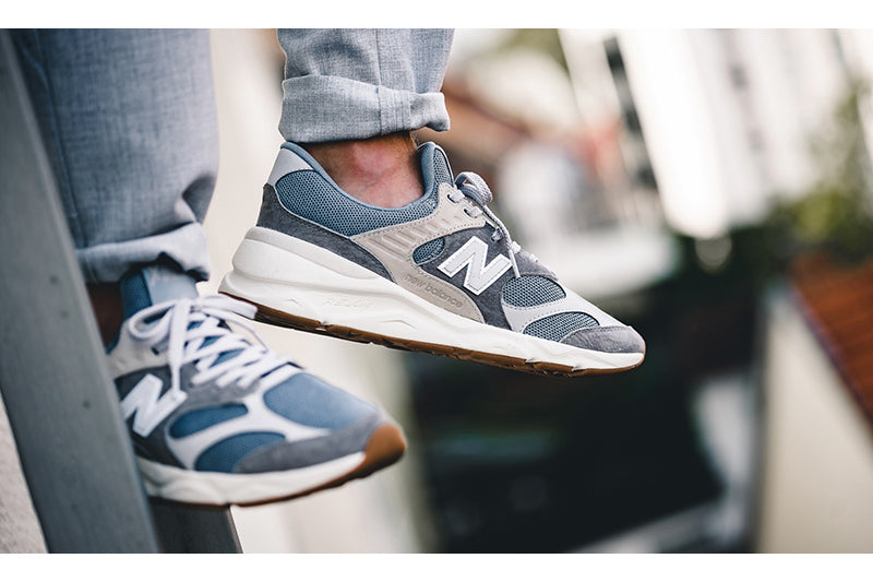 New Balance X90 Grey/Blue