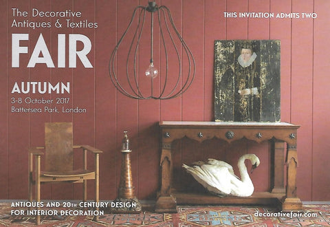 The Decorative Antiques & Textiles Fair Battersea London