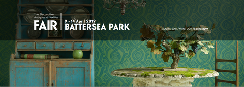 The Decorative Antiques & Textiles Fair- Battersea Park, London - Spring 2019