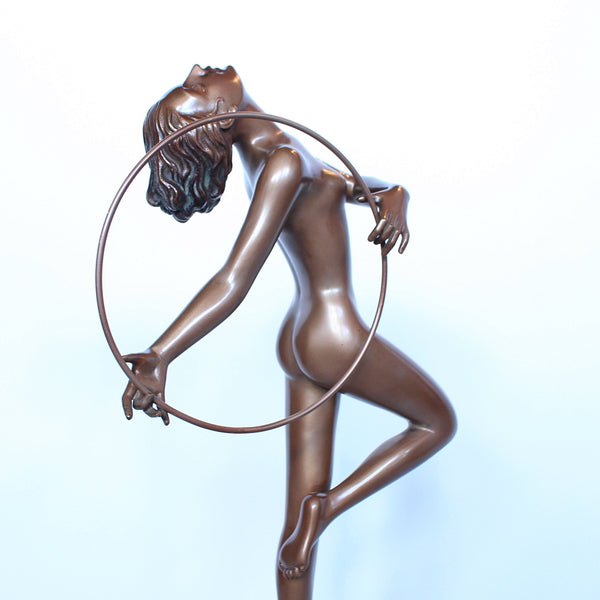 Art Deco Lorenzl Hoop Dancer at Jeroen Markies