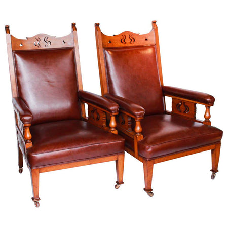 Italian Wing Chairs