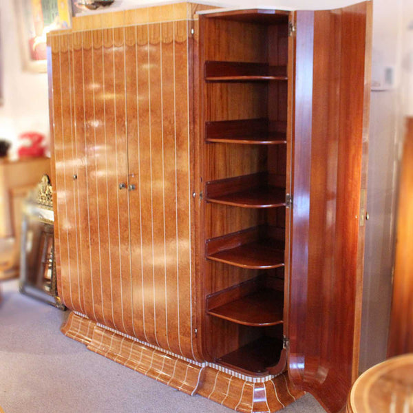 Art Deco wardrobe by Maple & Co of London