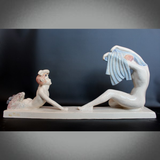 Art Deco Ceramic Sculpture