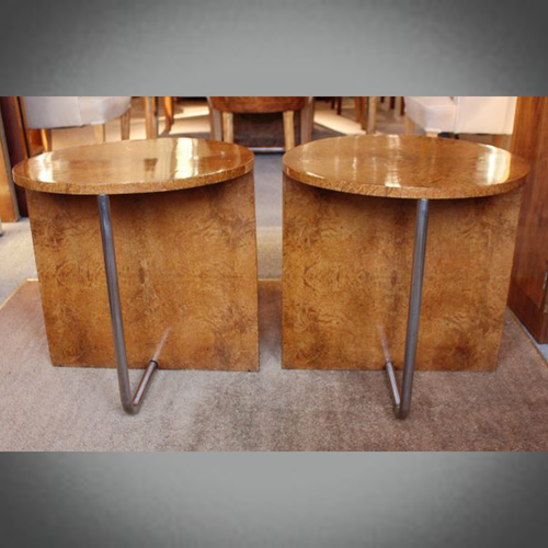 Art Deco Side Tables
