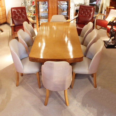 Hille Art Deco 10 Seat Dining Suite