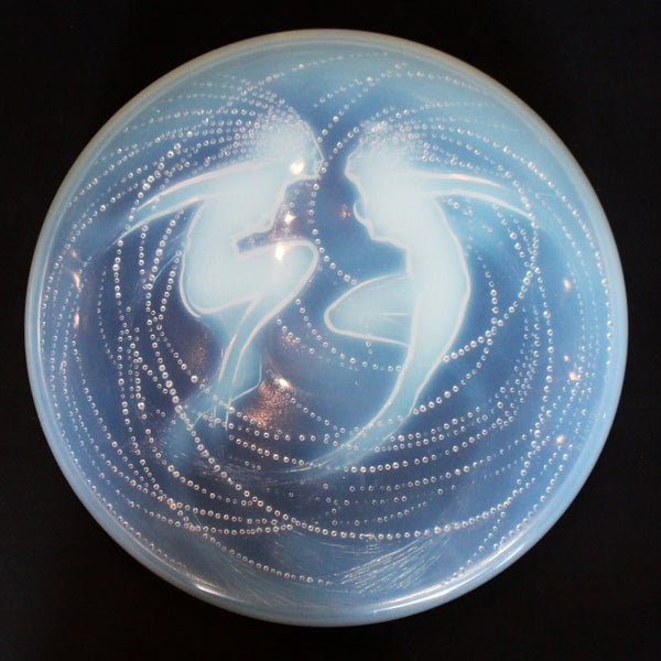 Rene Lalique Art Deco Deux Sirènes Box at Jeroen Markies