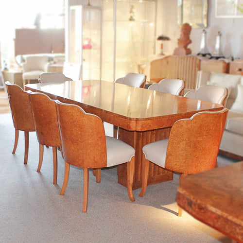 Epstein Art Deco dining tables