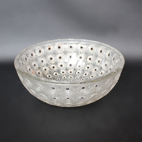Art Deco Lalique glass Nemours bowl At Jeroen Markies