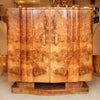An Art Deco, walnut veneer sideboard by Harry & Lou Epstein at Jeroen Markies