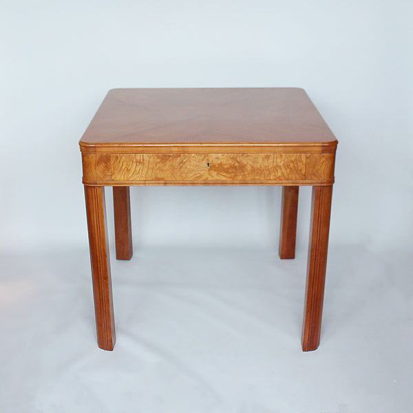 Art Deco table with drawer circa 1930 at Jeroen Markies