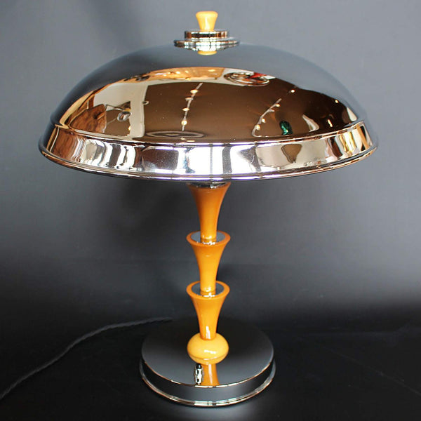 Art Deco Dome Lamp