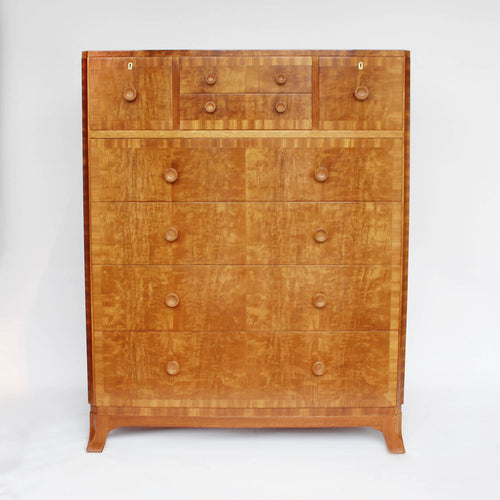 Art Deco chest of drawers attributed to Heal's of London at Jeroen Markies