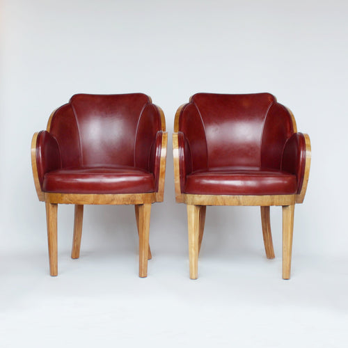 Art Deco Cloud Back Chairs