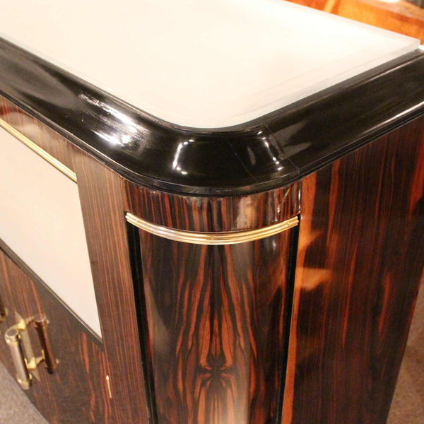 French Art Deco 1930's cocktail cabinet