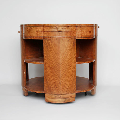 Epstein Art Deco Library Table