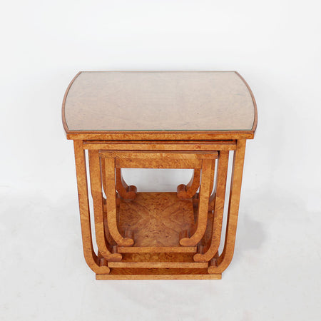 Art Deco X-Frame Stool