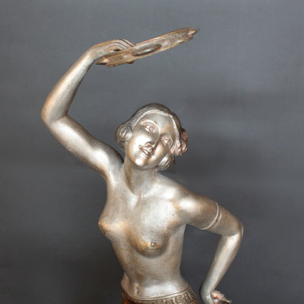 Art Deco Tambourine Dancer