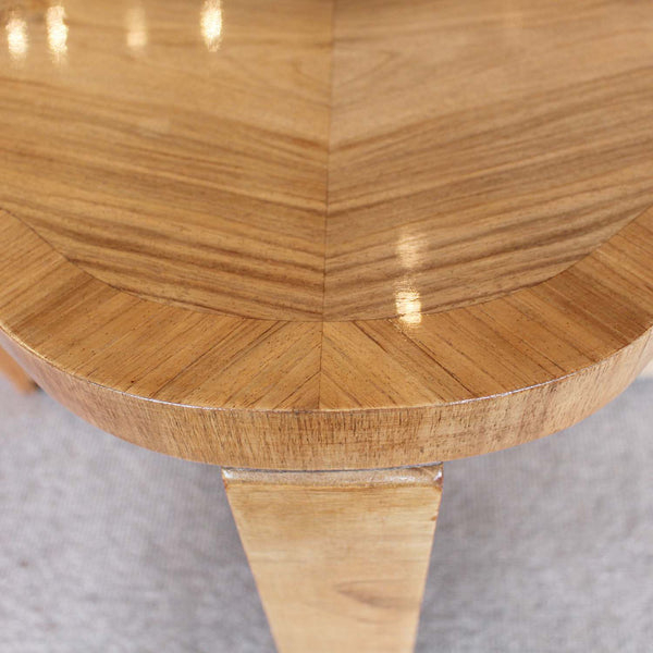 Art Deco walnut coffee table circa 1930 at Jeroen Markies