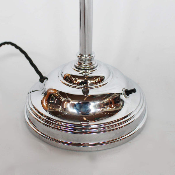 Art Deco Shell Lamp