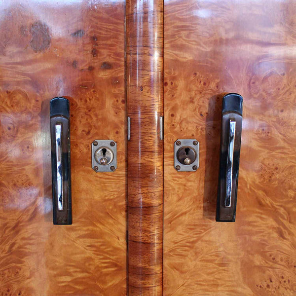 Art Deco double wardrobe circa 1930 at Jeroen Markies