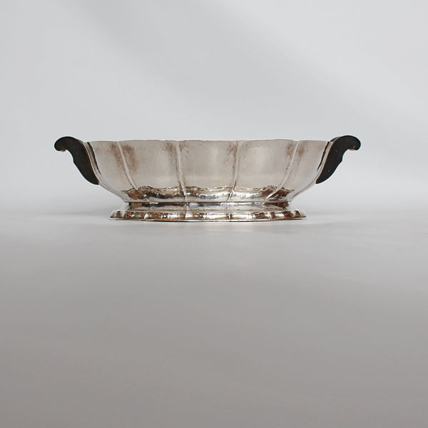 Art Deco silver plated Quist bowl