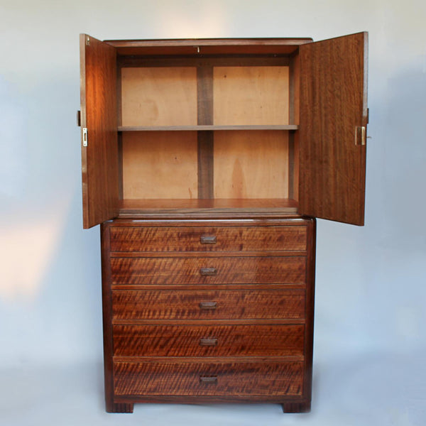 Original Betty Joel Chest with cabinet circa 1930 at Jeroen Markies