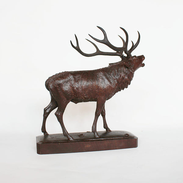 Hand Carved Stag