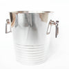 Silver plated champagne bucket by Casino De Pourville, South of France, Jeroen Markies.