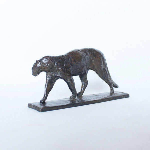 Alberic Collin Art Deco bronze panther at Jeroen Markies