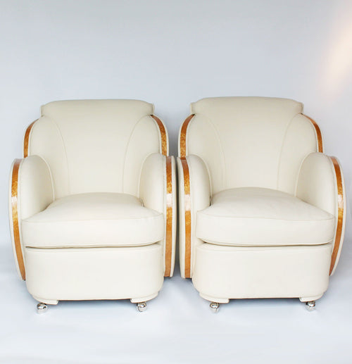 Epstein Art Deco Cloud Chairs