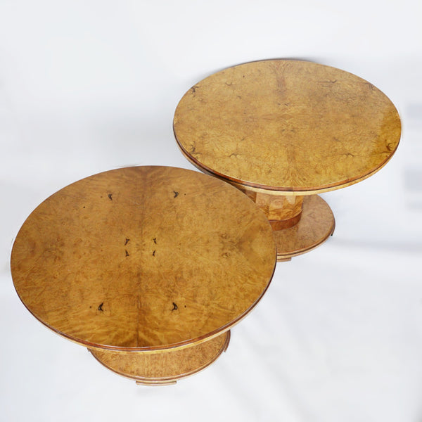 Harry & Lou Epstein Pair of Centre Tables Jeroen Markies Art Deco