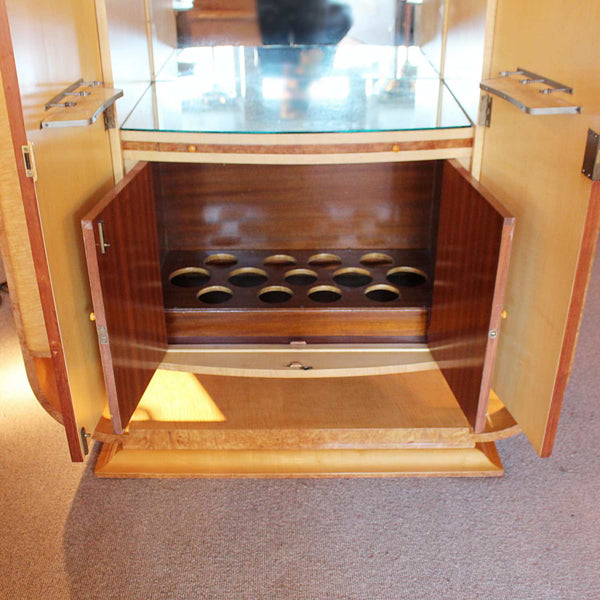 Art Deco cocktail cabinet by Harry & Lou Epstein circa 1930