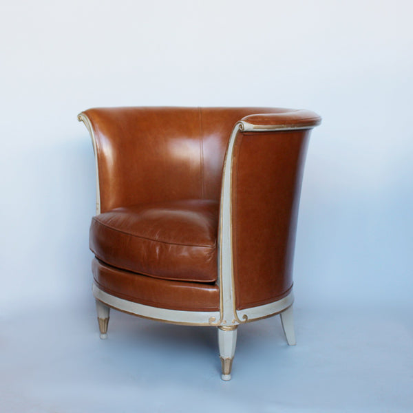 French Art Deco tulip chairs circa 1930 at Jeroen Markies