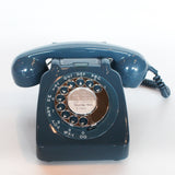 GPO model 706 telephone in blue at Jeroen Markies