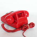 GPO model 706 letterbox red telephone with on/off ringer switch at Jeroen Markies