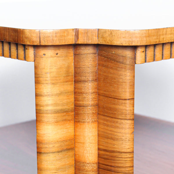 Walnut Veneer Side Table