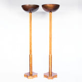 Pair of Uplighter Lamps