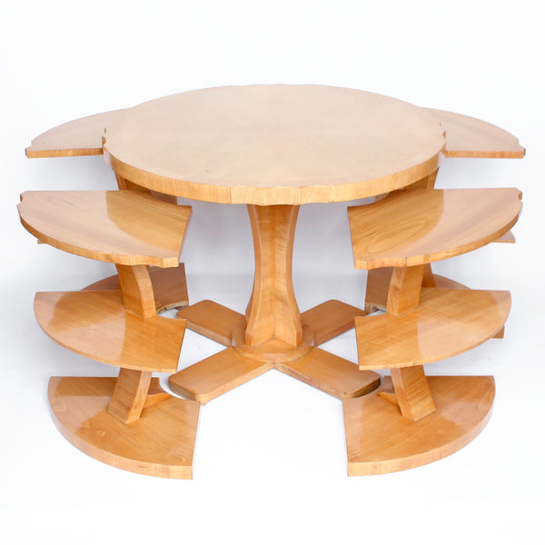 Art Deco Harry and Lou Epstein nest of tables